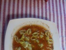 Zupa pomidorowa na indyku