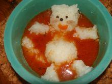 Zupa pomidorowa na soku dla dzieci