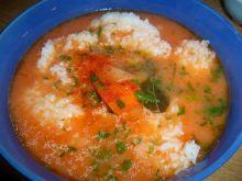 Zupa pomidorowa tabasco
