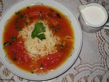Zupa pomidorowa z całych pomidorów 2