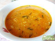Zupa pomidorowa z cukinią