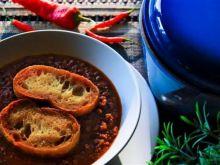 Zupa pomidorowa z czerwonym winem