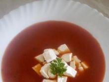 Zupa pomidorowa z fetą