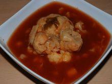 Zupa pomidorowa z kalafiorem na szybko
