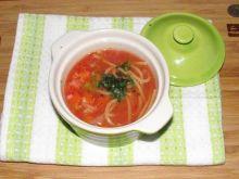 Zupa pomidorowa z kapustą pekińską