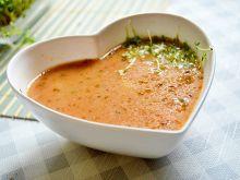 Zupa pomidorowa z kaszą manną