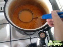 Zupa pomidorowa z kiełbaską