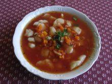 Zupa pomidorowa z kluseczkami