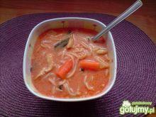 Zupa pomidorowa z makaronem