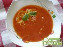 Zupa pomidorowa z makaronem wg Mychy