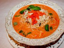 Zupa pomidorowa z mascarpone