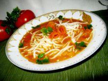 Zupa pomidorowa z papryką