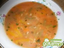 Zupa pomidorowa z papryką i ryżem