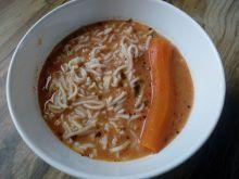 Zupa pomidorowa z pasternakiem