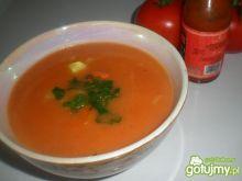 Zupa pomidorowa z ryżem i ziemniaczkami