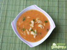Zupa pomidorowa z tortellini z mięsem