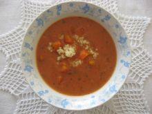 Zupa pomidorowa ze śmietaną