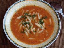 Zupa pomidorowa ze świeżych pieczonych pomidorów