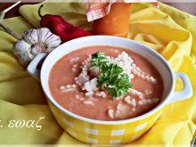 Zupa pomidorowo - dyniowa