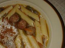 Zupa pomidorowo-paprykowa z pulpetami wieprzowymi