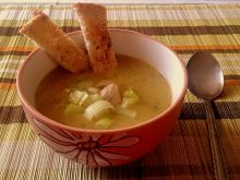 Zupa porowa krem