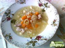 Zupa porowa z ryżem wg Katarzyny