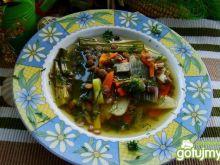 Zupa porowa z zieloną soczewicą