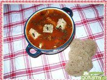 Zupa pudliszkowa z pasztecikiem