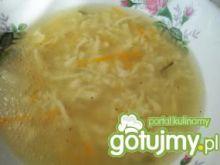 Zupa rosołowa z kluseczkami lanymi