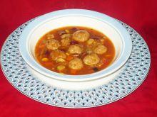 Zupa rozgrzewająca z pulpecikami