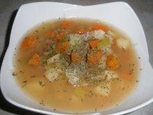 Zupa rybna z bazylią