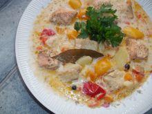 Zupa rybna z dorszem Bacalau czyli Caldeirada