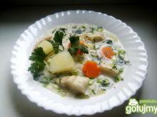 Zupa rybna z kalarepką