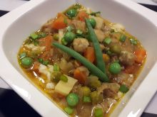 Zupa rybna z ryżem