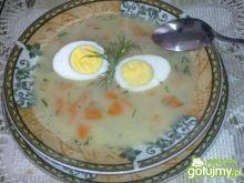 Zupa Rybno Warzywna z Jajkiem