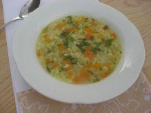 Zupa ryżowa na rosole
