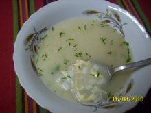 Zupa ryżowa z serem