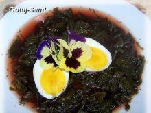 Zupa rzodkiewkowa a la botwinka