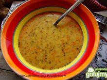 Zupa selerowo-ziemniaczana z majerankiem