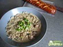 Zupa serowa z mięsem mielonym 5