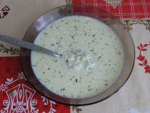 Zupa serowa z ryżem i ziołami prowansalskimi