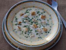 Zupa serowa z serkami topionymi