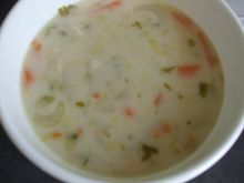 Zupa serowa z warzywami