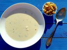 Zupa serowo- czosnkowa