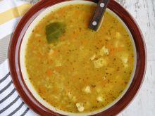 Zupa soczewicowa na wieprzowinie