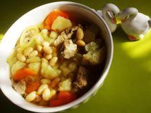 Zupa sojowa z kalafiorem