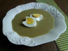 Zupa szczawiowa na maśle z jajkiem