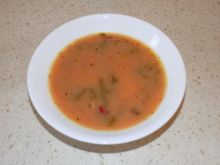 Zupa szczawiowa z botwinką