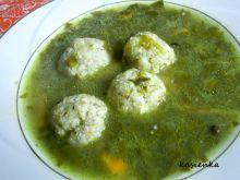 Zupa szczawiowa z klopsikami ze szczupaka