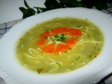 Zupa szczawiowa z makaronem